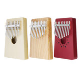 Percussion Doigt Piano En Kalimba Bois 10 Touches