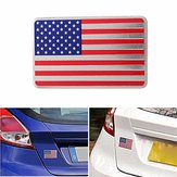 Car American American Flag Embleem Sticker Metalen Badge Decal Decor Universeel Voor Auto Auto
