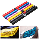 30X100cm Car Light Tint Film Sticker Decal Wrap for Headlight Fog Light Tail Light