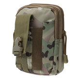 Waterproof Nylon Military Tactical Molle Waist Pack Utility Pouch Emergency Pocket Bag