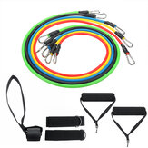11PCS Resistance Bands Set Multi-Function Tension Band Muscle Training Fitness Equipment Kit