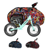 Oxford Cloth 12 Inch Scooter Carrying Bag Wear Resistant Children Bike Storage Bag Kids Balance Bicycle Scooter Cover