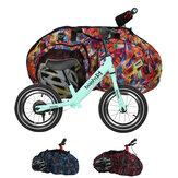 Pano de Oxford Scooter de 12 Polegadas Que Carrega Bolsa Crianças Resistentes Ao Desgaste De Armazenamento De Bicicleta Bolsa Crianças Equilibra Tampa de Scooter de Bicicleta