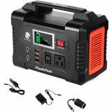 [US Direct] FlashFish 200 Вт, 40800 мАч, портативный электрогенератор Солнечная Электростанция с розеткой 110 В переменного тока / 2 порта постоянного тока