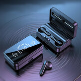 Bakeey S20 TWS Bluetooth-oortelefoon Stereo-oordopjes LED-display Sport Draadloze hoofdtelefoon met microfoon