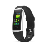 Bakeey B5 Built-in GPS Activity Record Heart Rate Blood Pressure IP68 Waterproof Message Weather Smart Watch Band