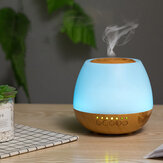 400ml Electric Ultrasonic Air Mist Humidifier Purifier Aroma Diffuser Bluetooth Function with Colorful lights for Home Car Office