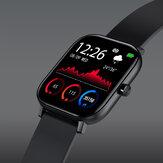 Bakeey I10 1,57 inch groot display HD scherm polsband bluetooth oproep aangepast horloge gezicht Real tijd hartslagmeter smart watch