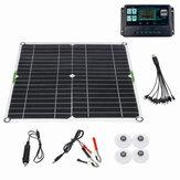 200W-os napelemkészlet 12V-os akkumulátortöltő 10-100A-os vezérlő hajó motorkerékpárok csónakjához