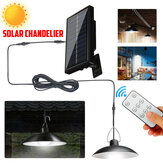 Solar LED Hanglamp Outdoor Flood Hangende Tuinlamp + Remote Waterproof White Light