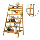 Plant shelves Flower Stand Floor Living Room Multi-layer Rackbalcony Folding Green Hanging Orchid Pot Plant Stand