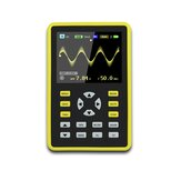 DANIU ADS5012H Digital 2.4-inch TFT Layar Anti-burn Oscilloscope 500MS / s Sampling Rate 100MHz Analog Bandwidth Mendukung Penyimpanan Gelombang dan Built-in Kapasitas 3000mah Besar Baterai Lithium