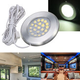 12V 21 LED Spot Light Ceiling Lamp For Caravan Camper Van Motorhome Boat