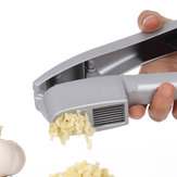 Multifunctional Kitchen Cooking Tools 2 in 1 Garlic Press Vegetable Slicer