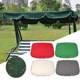 Cobertura superior do balanço do verão Cobertura impermeável da mobília da substituição do dossel para o pátio do jardim Cadeira ao ar livre do balanço Cobertor da cadeira do balanço do dossel da rede