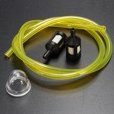 Ryobiガソリンストリマー用2.5 / 3 mmクリアフューエルパイプ+ 2ミニフィルター&プライマーバルブ