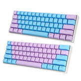 111 Keys Color Matching Keycap Set OEM Profile ABS Two-Color Injection Keycaps for Mechanical Keyboard