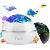 8-Mode LED Night Light Star Sky Projection Lamp TOYS FOR BOYS GIRLS Gift for Kid