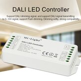 MiBOXER DL1 DALI LED Dimmer Controller Single Channel Max 12A Dimming Signal/Push Dimming for Strip Light DC12V-24V