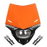 Motorrad Scheinwerfer Montage Licht mit Birne Dual Sport Motocross Für Honda/Kawasaki / Suzuki / Yamaha KTM EXC EXCF XCF SX SXF SMR