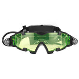 Adjustable LED Night Vision Safety Goggles Eye Lens Glasses with Light