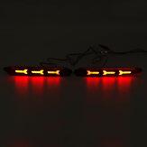 2 шт. LED задний бампер отражатель стоп-сигнал для Toyota Camry / Sienna / Matrix / Lexus