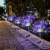 Solar Firework String Light 60/105/160 LED Lamp Outdoor Garden Party Christmas Decorations Lights