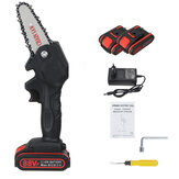 Original              88VF Cordless Electric One-Hand Saw Chain Saw Woodworking Tool W/ 2pcs Battery