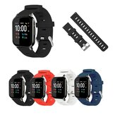 Breathable Watch Strap Silicone Watch Band for Haylou LS02 BW-HL1 BW-HL2 BW-HL1T BW-HL1Pro