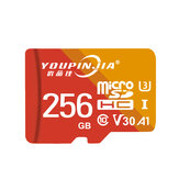 YOUPINJIA 64GB / 128GB / 256GB TF Scheda di memoria ad alta velocità Scheda di memoria MP4 MP3 Card per registratore di guida fotografica Altoparlanti per schede