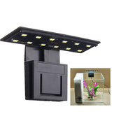 Ultracienki 5W 12 LED Aquarium Light Clip on Plant Acnu Fish Tank Lamp AC220V