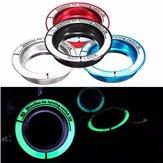 La llave de contacto de coches luminosa toca la decoración del interruptor de la ignición para el vado kuga foco