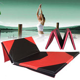 118x47x1.97inch Gymnastics Mat Gym Folding Panel Yoga Exercise Tumbling Fitness Pad
