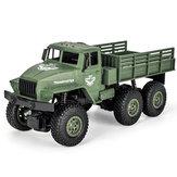 JJRC Q68 Q69 1/18 2.4G 4WD Modelo de RTR de carro de caminhão militar off-road de veículo RC
