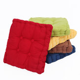 50x50cm Square Corduroy Chair Pad Seat Cushion Patio Home Office Seat Sofa Tatami