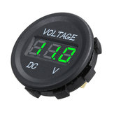 DC 12V LED Panel Digitale Voltage Meter Display Voltmeter Voor Motor Motorboot