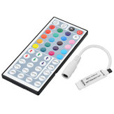 DC12V 72W Mini Wireless Controller with 44 Keys Remote Control for RGB LED Strip Light