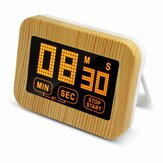 Touch Screen Timer Countdown Reminder With Backlight Electronic Fixed Clock Kitchen Timer Timing