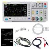FNIRSI-1014D 7 Inch TFT LCD Pantalla Pantalla 2 en 1 Almacenamiento de entrada de doble canal Osciloscopio Generador de señal digital