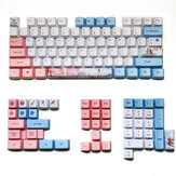 MechZone 73/125 Tasten Three Lives Keycap Set OEM-Profil PBT Sublimation Keycaps für mechanische Tastaturen