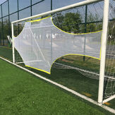 Precision Training Football AID Soccer Target Practice Shot Goal Net