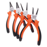7 بوصة 25mm CR-V Circlip Snap Ring Pliers Internal خارجي Straight Bent نمط أداة
