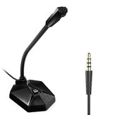 TAIOU Noise Reduction Microphone For Video Conference Studio Home Online Chatting