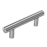 10Pcs T Bar Pulls Handles Steel Modern Knobs Kitchen Bathroom Cabinet Hardware
