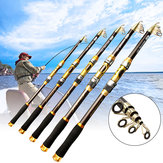 Carbon Fiber Fishing Rod Outdoor Camping Fishing Tools Portable Fishing Accessories