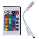 5 stks DC12V 3528 5050 RGB LED Strip Licht Controller met 24 Key Mini IR Afstandsbediening
