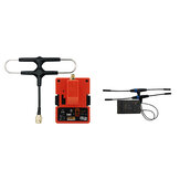 FrSky R9M 2019 900MHz Long Range Transmitter Module and R9 STAB OTA ACCESS RC Receiver with Mounted Super 8 and T antenna