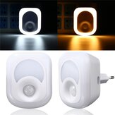 2W 23 LED Light-controlled & PIR Sensor Night Light Plug-in Hallway Bedroom Home Emergency Lamp