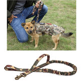 KALOAD ZY035 1000D Nylon Multi-Function Army Training Dog Bungee Leash Hunting Military Tactical Dog Traction Rope