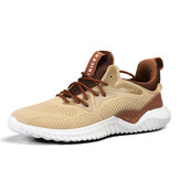 Zapatillas deportivas ligeras para hombre Zapatillas de correr de malla transpirable Zapatillas de deporte casuales tejidas voladoras